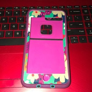 Lifeproof case for 7/8 iPhone plus phone with skin